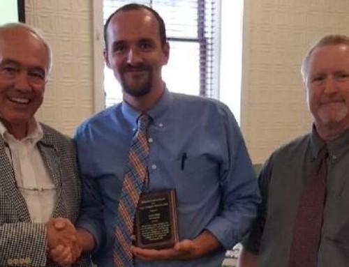 Aaron Stone, Recipient of the Roger LaChapelle Award