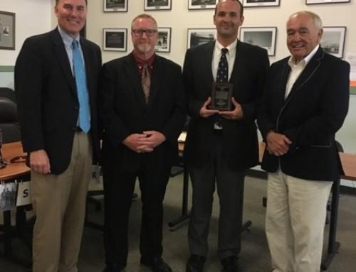 2017 Frank Loughran Award, Earned by Aaron Stone