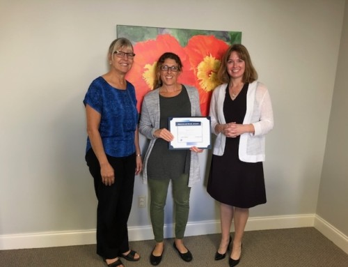 Success at Work Award – Congratulations, Kate Tona!