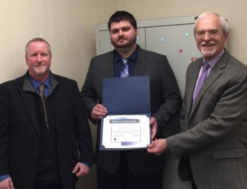 Dan Dzengelewski Receives Success-at-Work Award