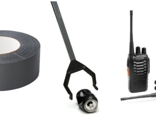 What do Duct Tape, Walkie-Talkies, and Grabbers Have in Common?