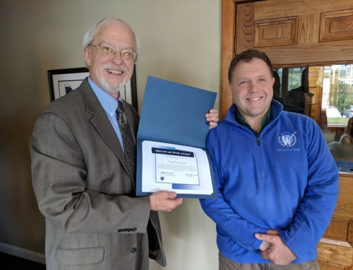 Tim Provencal Receives Success-at-Work Award