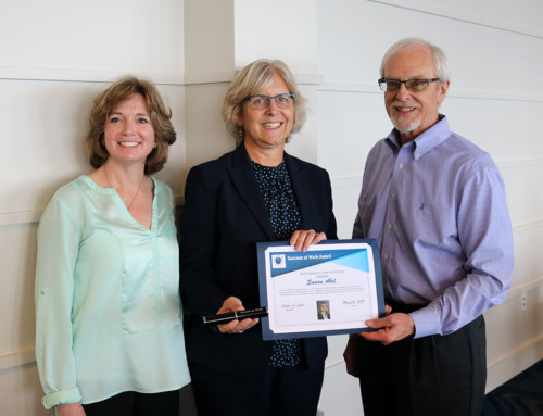 Sue Abel Receives Success at Work Award