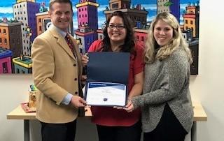 Success at Work Award – Toni Harvey