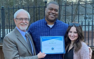 Success at Work Award Recipient Chris Wosencroft